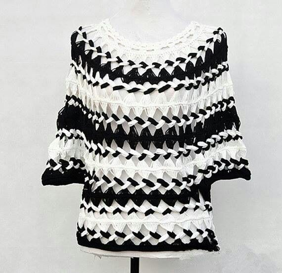 Hairpin lace shirt or top