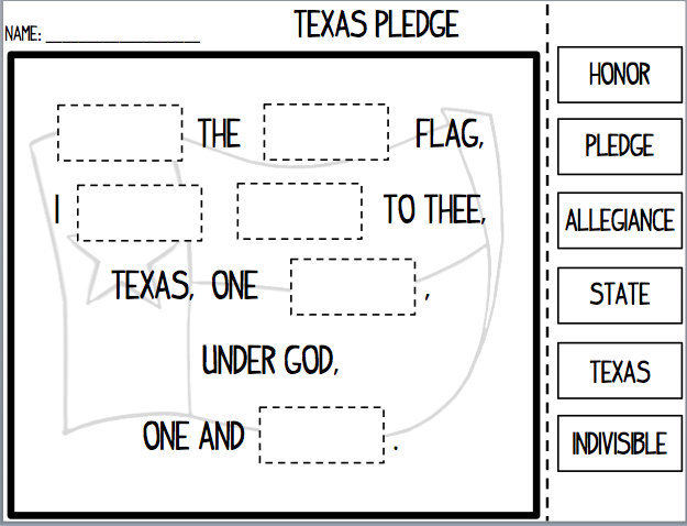 The Us Pledge For Young Learners Classroom