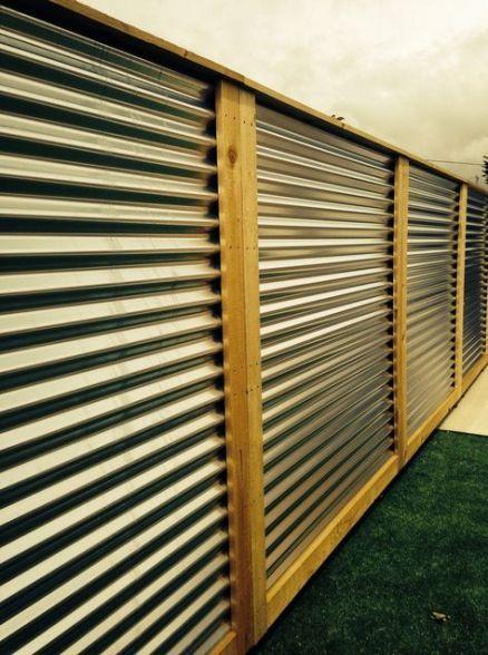19 Ideas Garden Fence Panels Corrugated Metal Metal Fence Panels Corrugated Metal Fence Garden Fence Panels