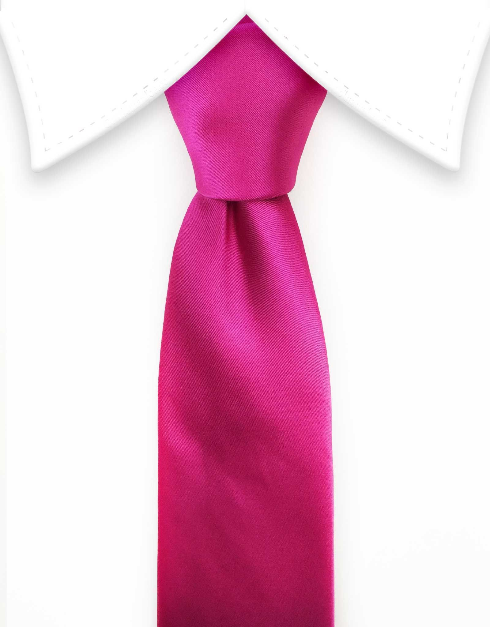 3d2c4e241964 Hot Pink Solid Tie | Splash The White Shirt | Pink ties, Tie, Hot pink