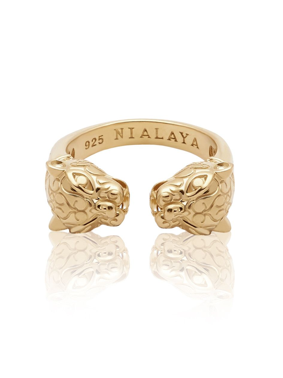panther ring in gold 18k gold ring and gold
