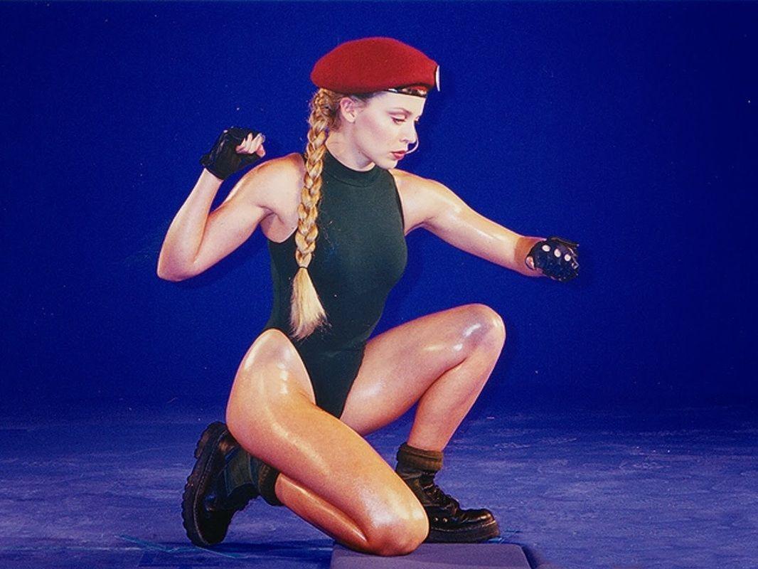 Kylie Minogue As Cammy Street Fighter Movie Arcade Kylie Minogue