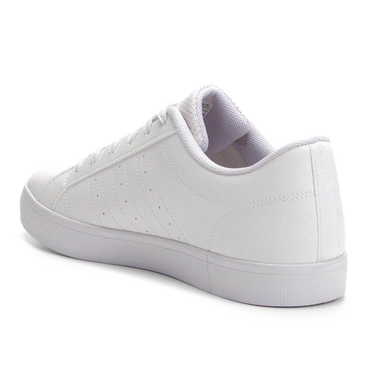 ec68c34a4 Tênis Adidas VS Pace Masculino - Branco e Preto - Compre Agora