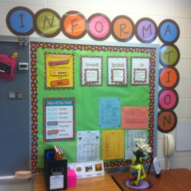 Informative Bulletin Board Ideas
