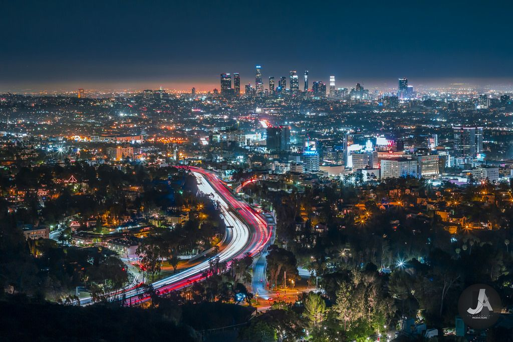 Mulholland Drive at Los Angles [5108x3406][OC] Cityscape