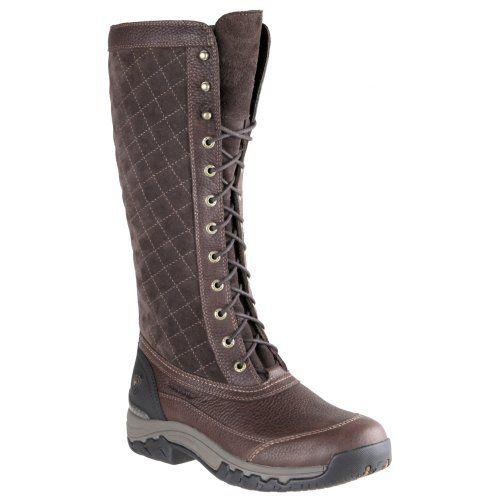 Ariat Dark Riding Boot Insulated Brn Women's Waterproof Jena Us YqrfzwZ1Yx