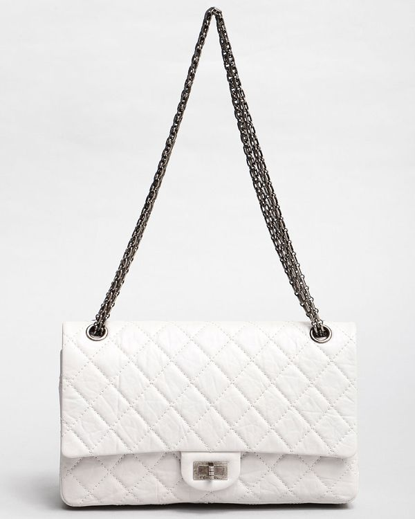 b13e4cbb16596c Chanel White Reissue 2.55 | To Have & To Hold | Chanel, Bags, Chanel ...