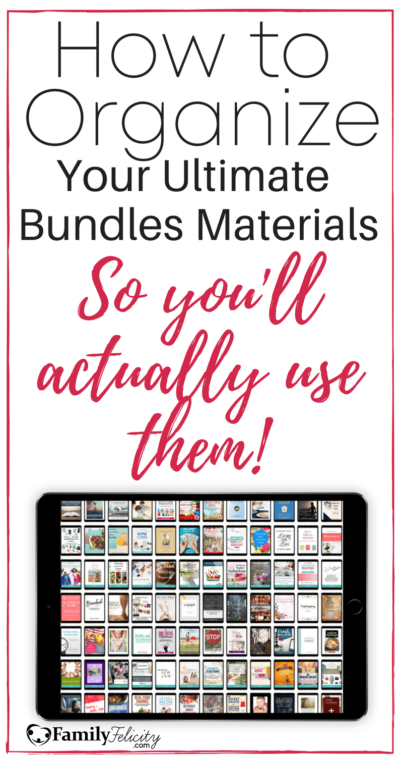 How to Organize Online Courses & Ebooks So You'll Actually