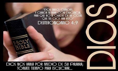 b909692d7e Deuteronomio 4:8-9 »Por lo tanto, ten cuidado. Ten mucho cuidado de ...