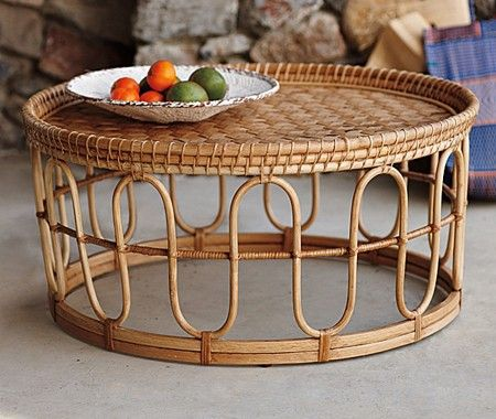 10 Cottage Style Decorating Finds Indoor Rattan Furniture