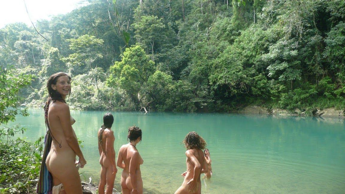 Nudist camping pic