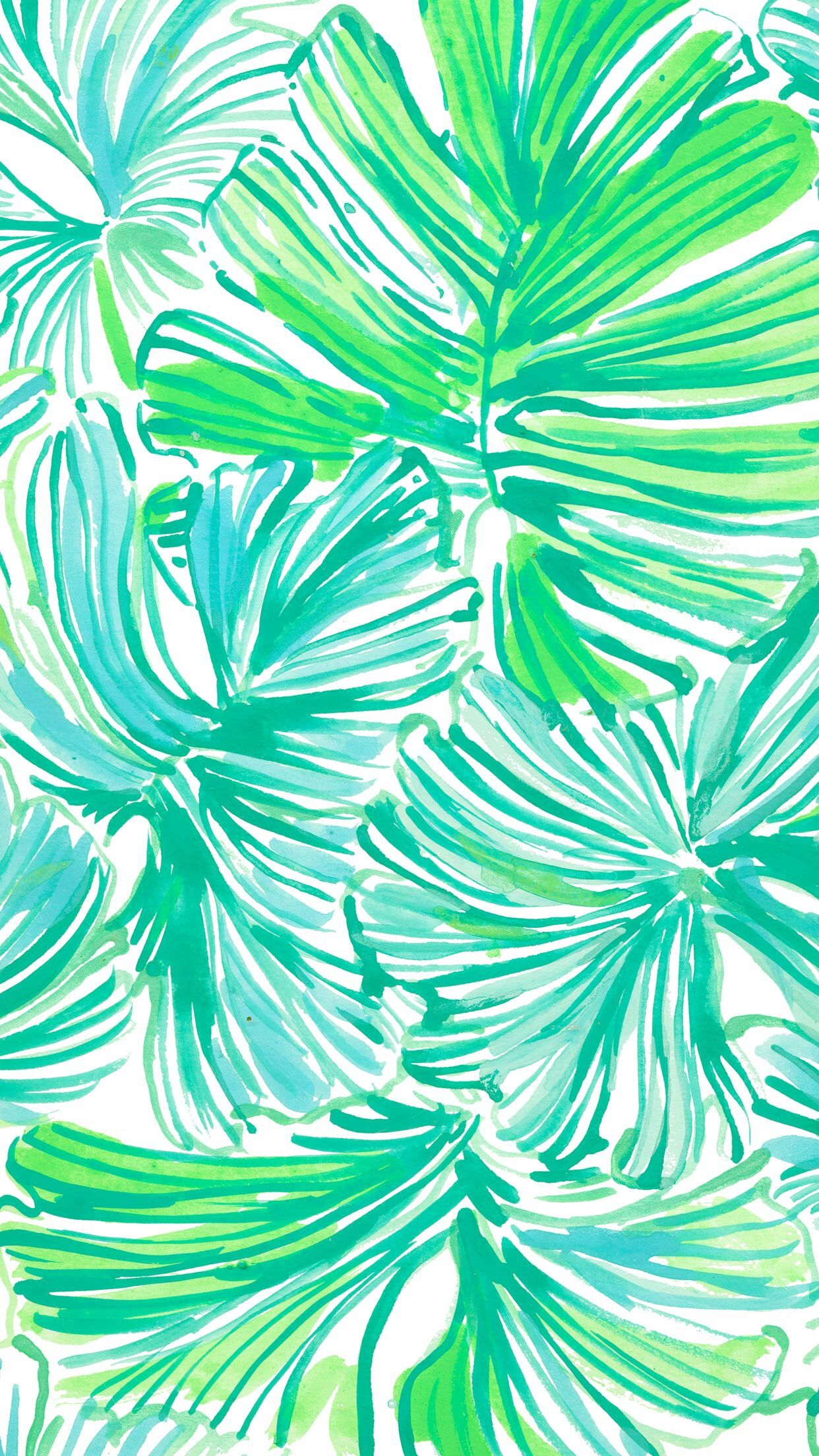 Leaf phone background Lily pulitzer wallpaper, Iphone