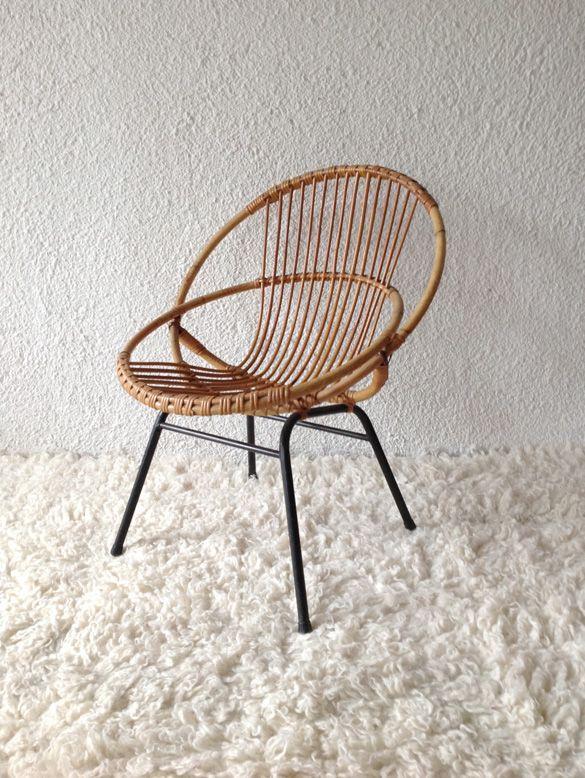 silla huevo bamb vintage  sillas en 2019  Sillas