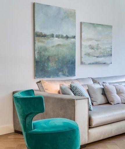 Margo van Erkelens - Kunst in het interieur | Projekty do ...
