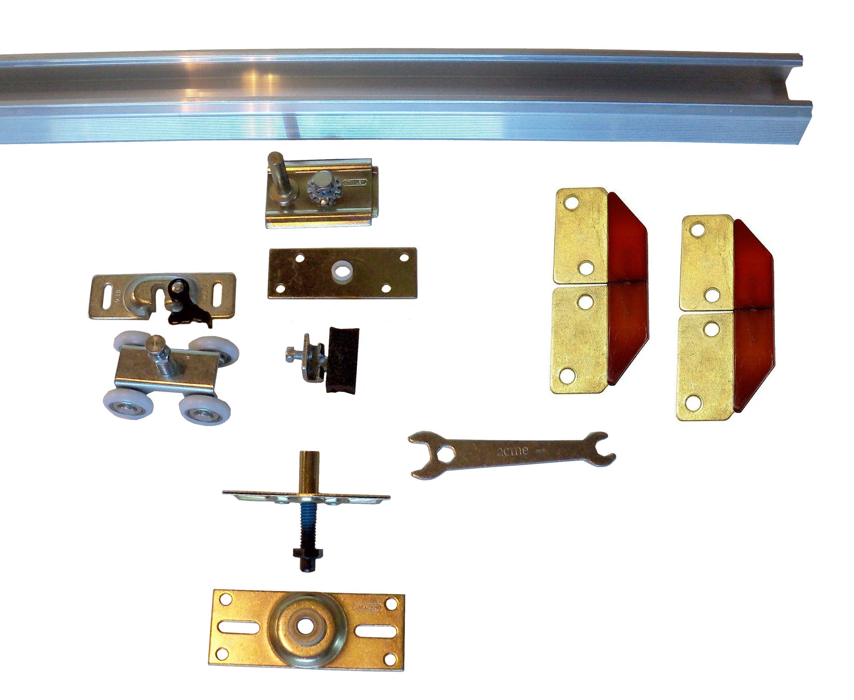 Pin On Bypass Door Hardware Kits