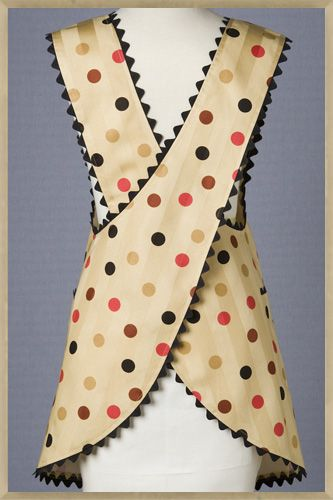 Free Apron Sewing Patterns Simple Retro And More | Caroldoey