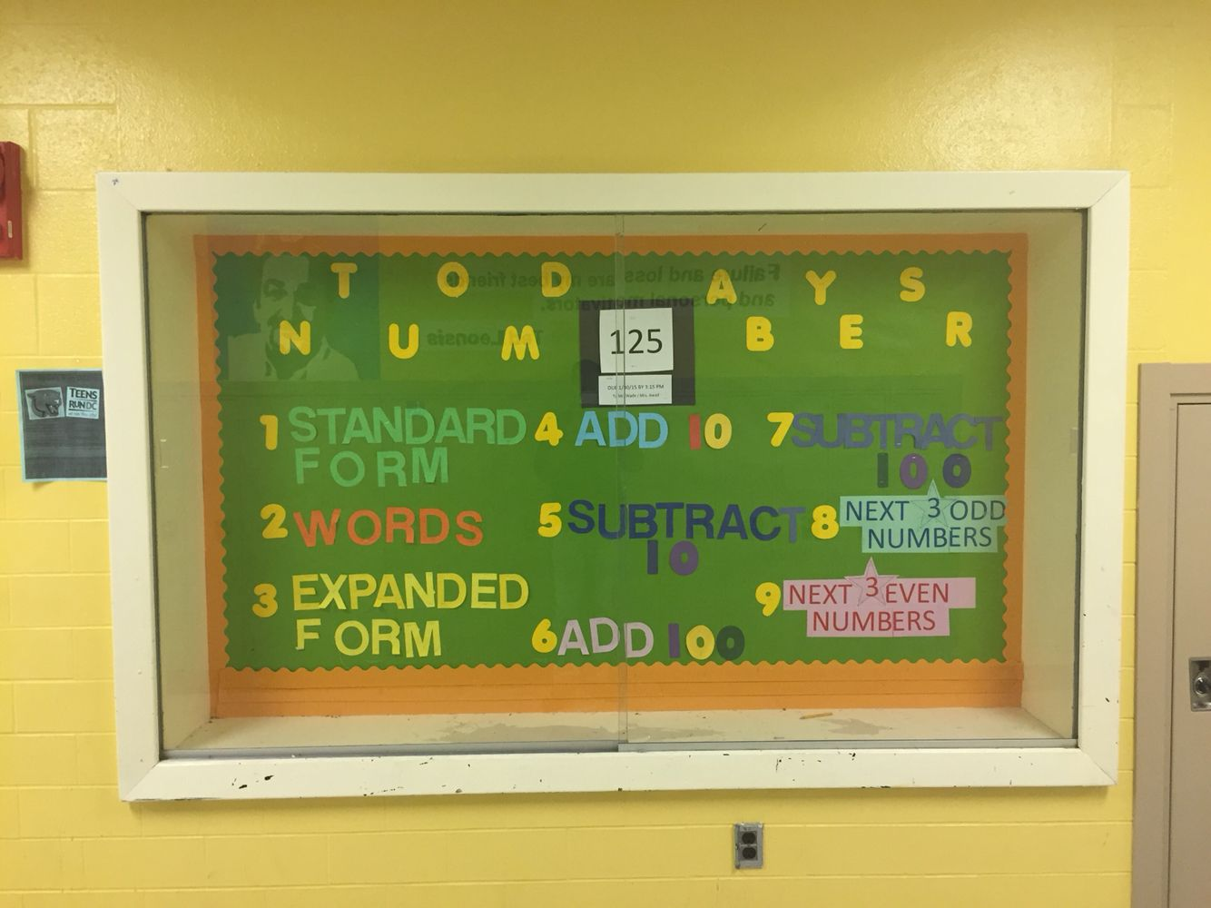 A task to accomplish initially but an easy board to maintain throughout the year