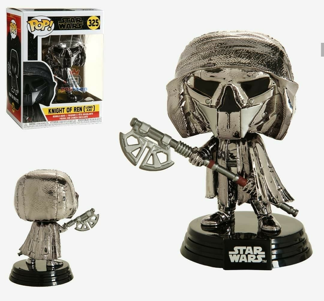 VINYL STAR WARS KNIGHT OF REN AXE FREE PROTECTOR FUNKO POP ** PREORDER **