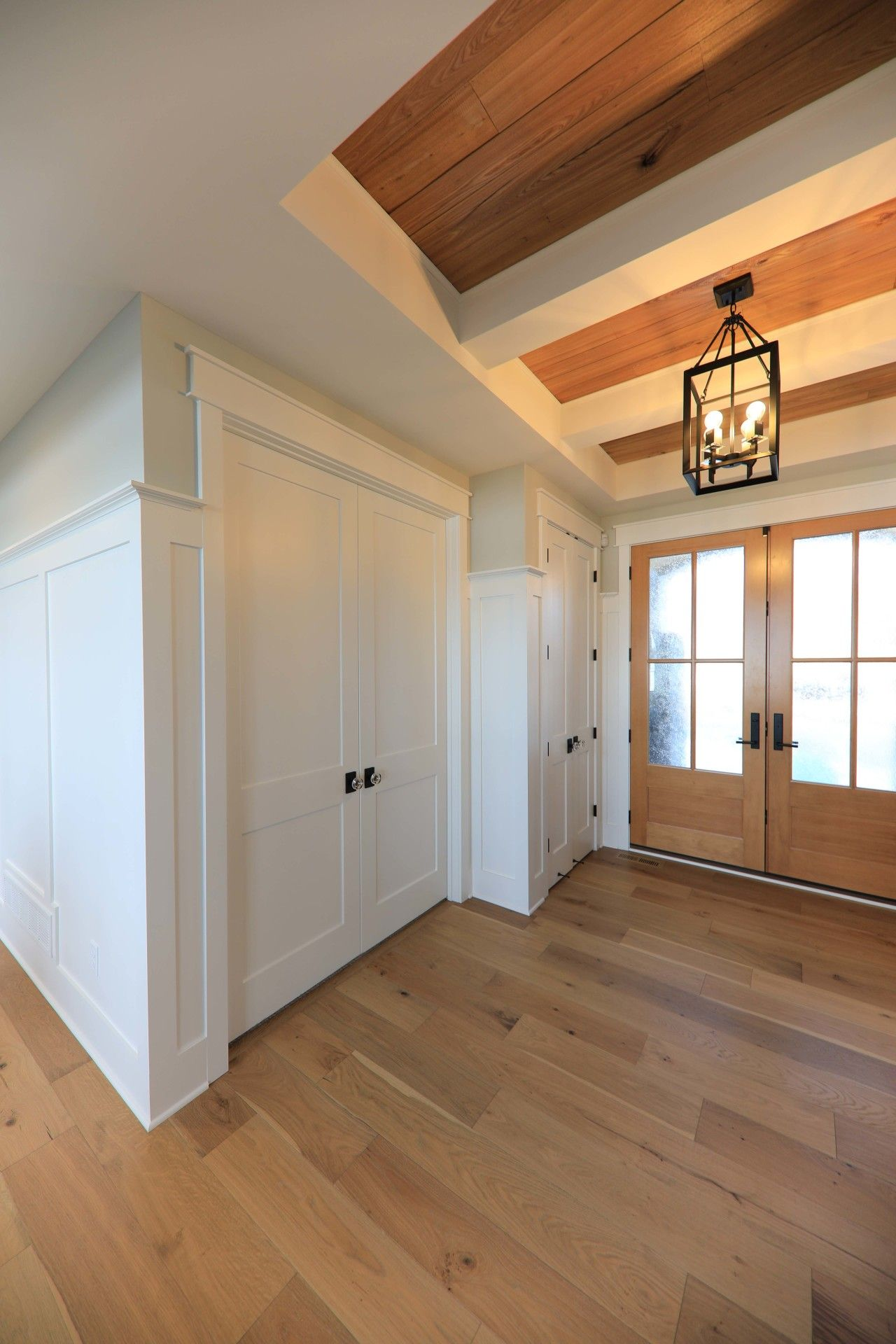 Interior Doors The Return Of White Oak Floors A Pair Of Fir Doors For The Front Entry System And Doors Interior White Oak Floors Installing Hardwood Floors