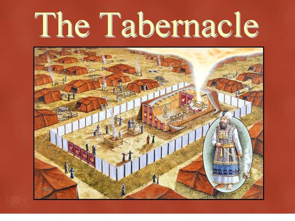Moses tabernacle study
