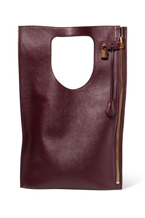 5ffb11449258 Tom Ford Alix Medium Textured-Leather Tote