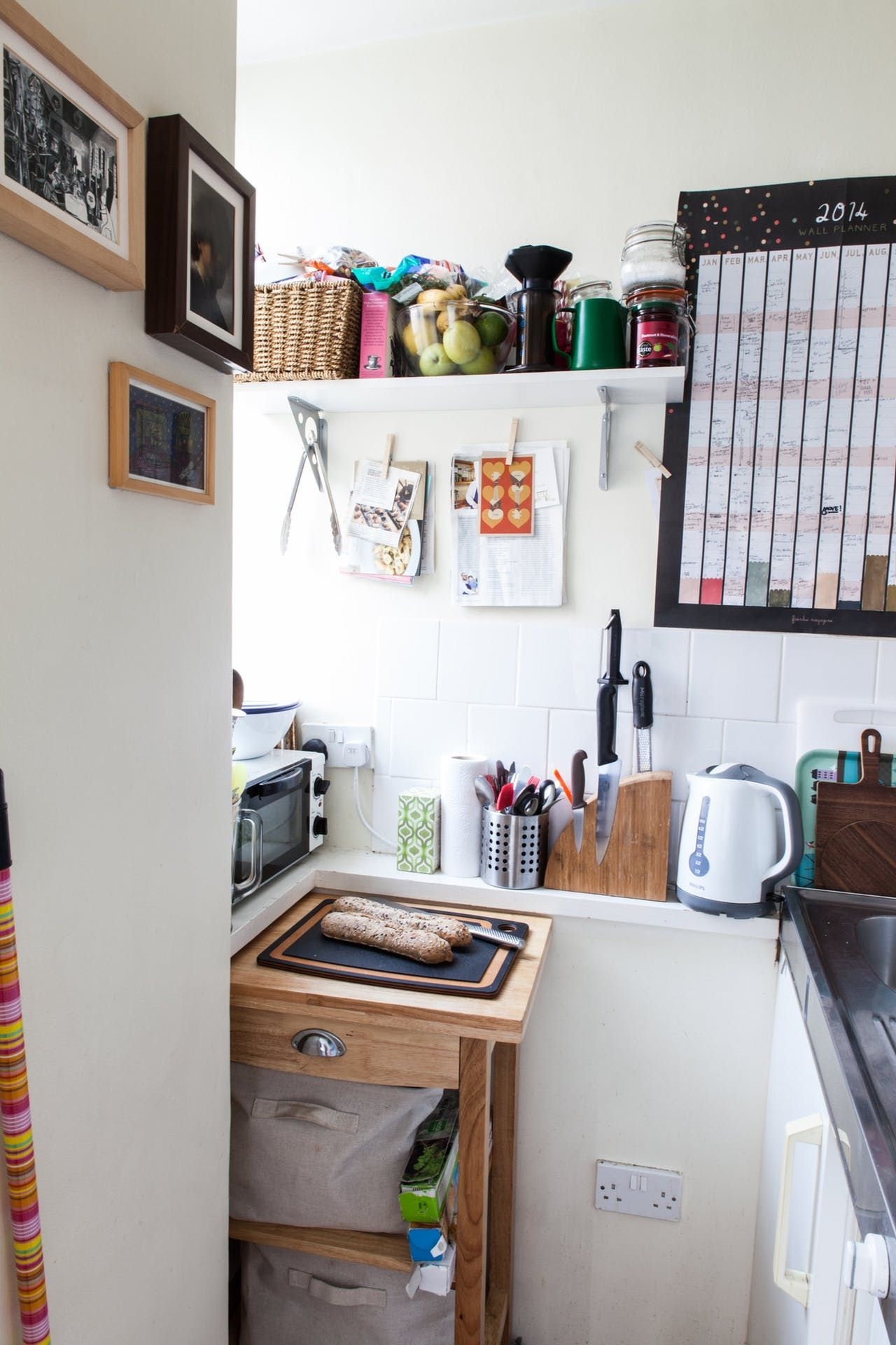 A Tiny 270 Square Foot Shared London Studio