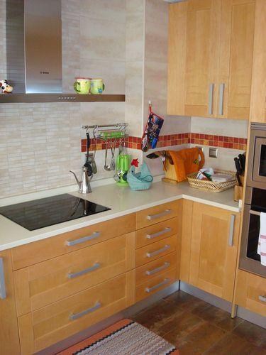 Diseño de cocinas en valdemoro madera teide color especial ...