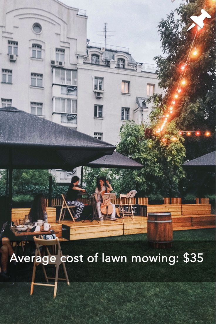 How much does lawn mowing and trimming cost? Lawn