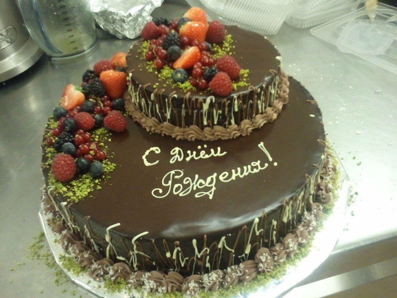 Украшение торта с днем рождения для мужчины