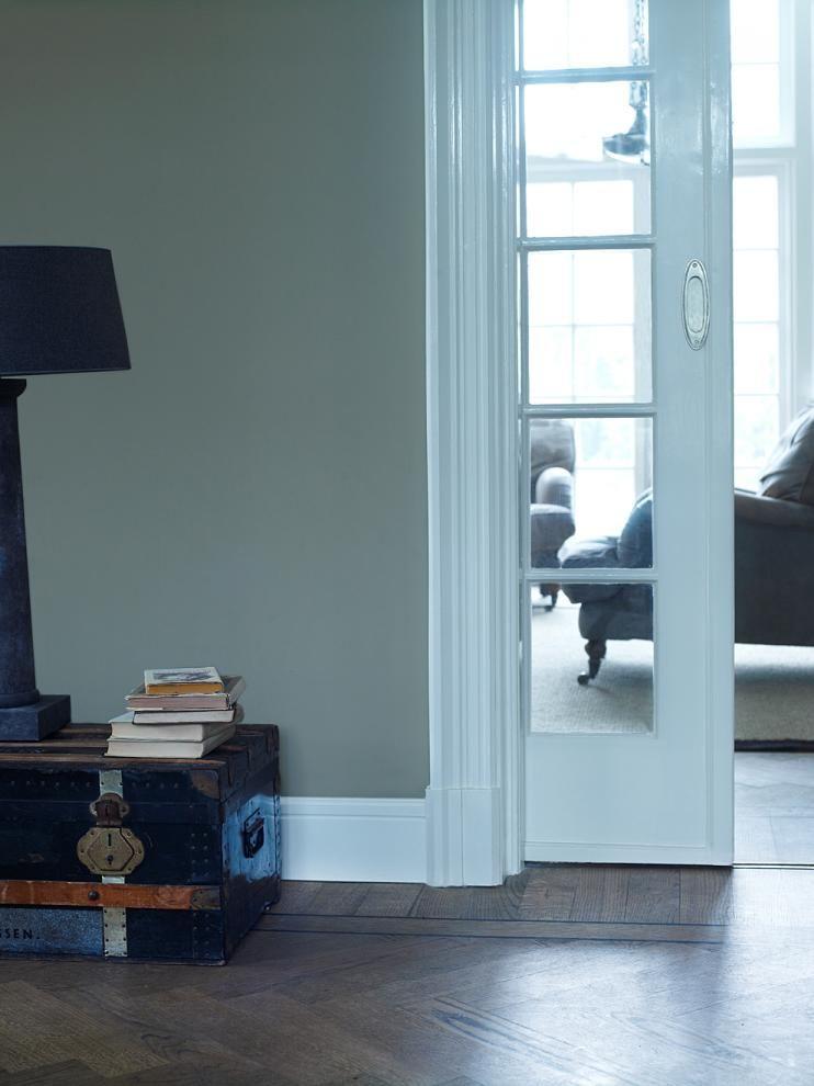 groen-grijs voor op de muur - flexa pure verf - For the Home ...
