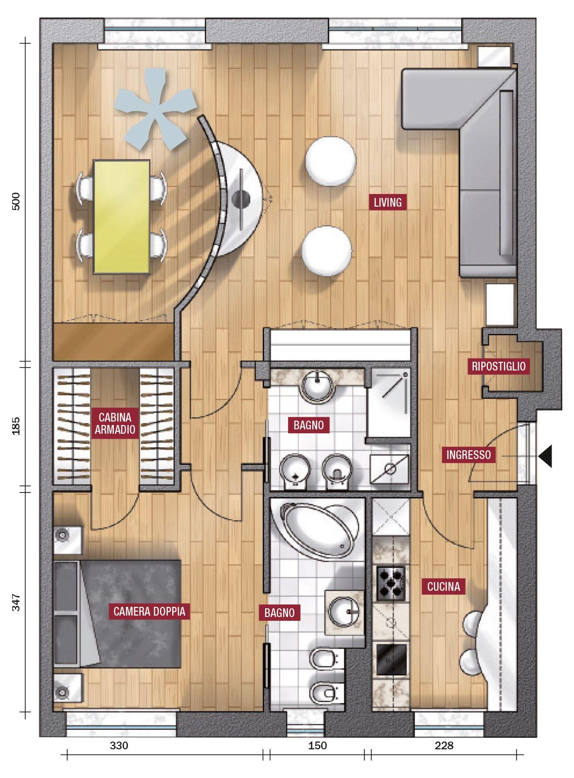 Risultati immagini per progetto di una casa 10 x 10 for Progetti per ristrutturare casa