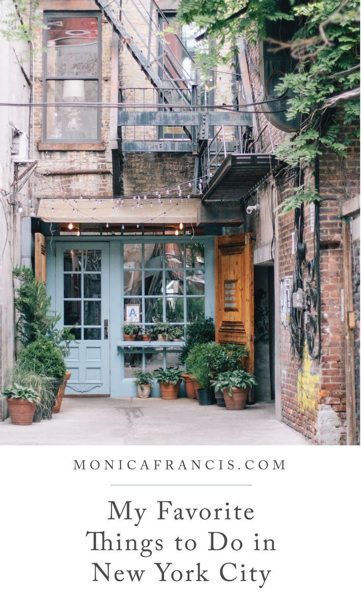 A Newcomer's Favorite Things to Do in NYC — Monica Francis   Travel Blog