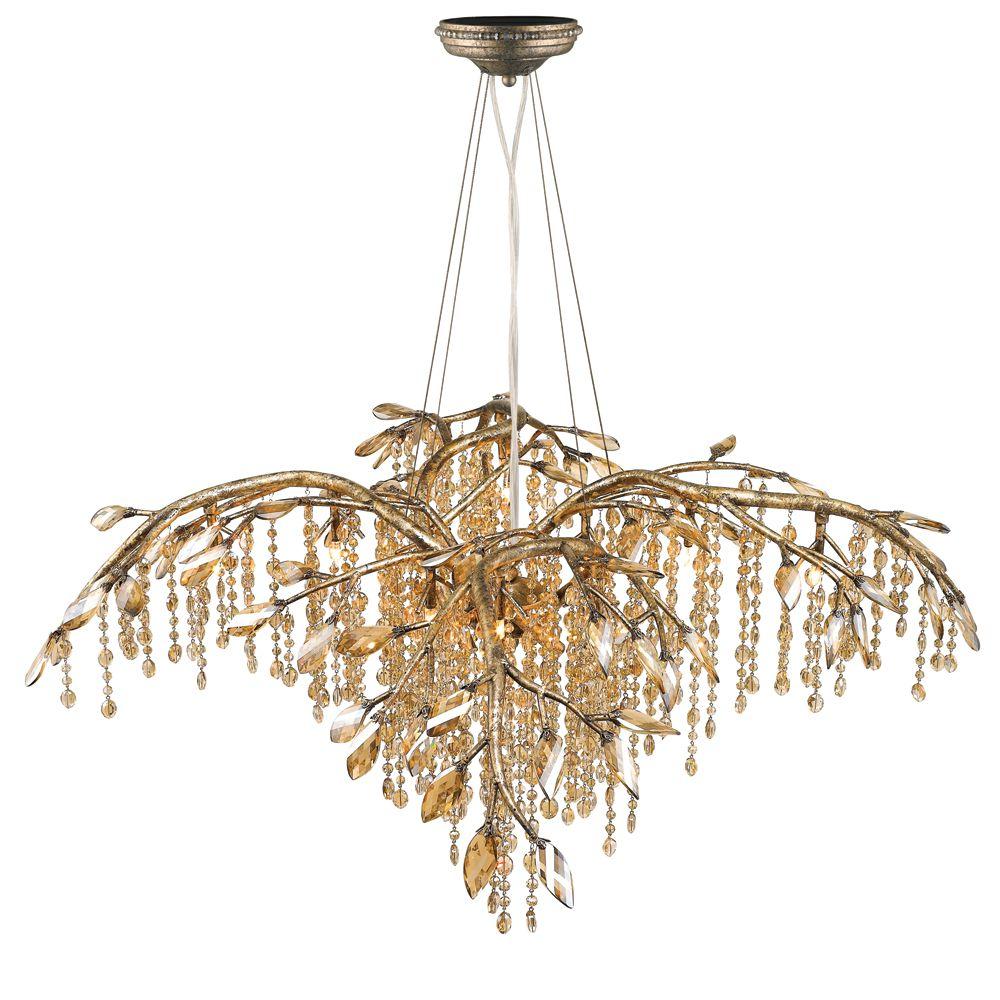 golden lighting chandelier. Golden Lighting\u0027s Autumn Twilight 12 Light Chandelier #9903-12 MG Lighting G