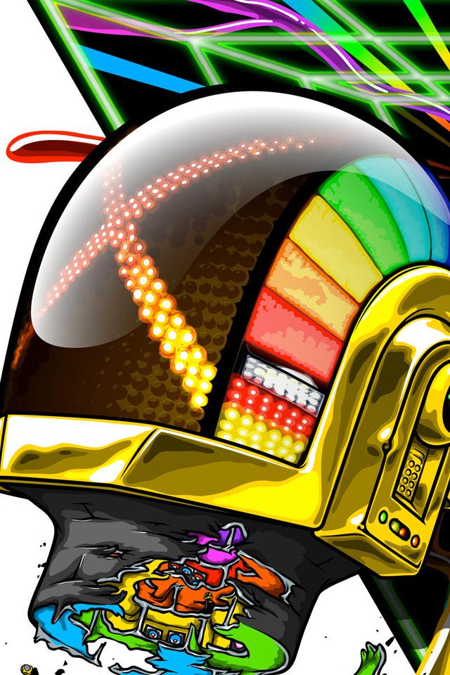 Daft Punk iPhone Wallpaper 壁紙, 壁紙 ipad, 壁紙ダウンロード