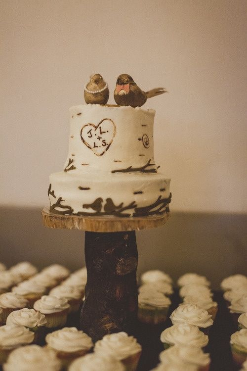 DIY: CAKE TOPPERS in 2018 | Food (Mostly sweets) | Pinterest | Bird ...