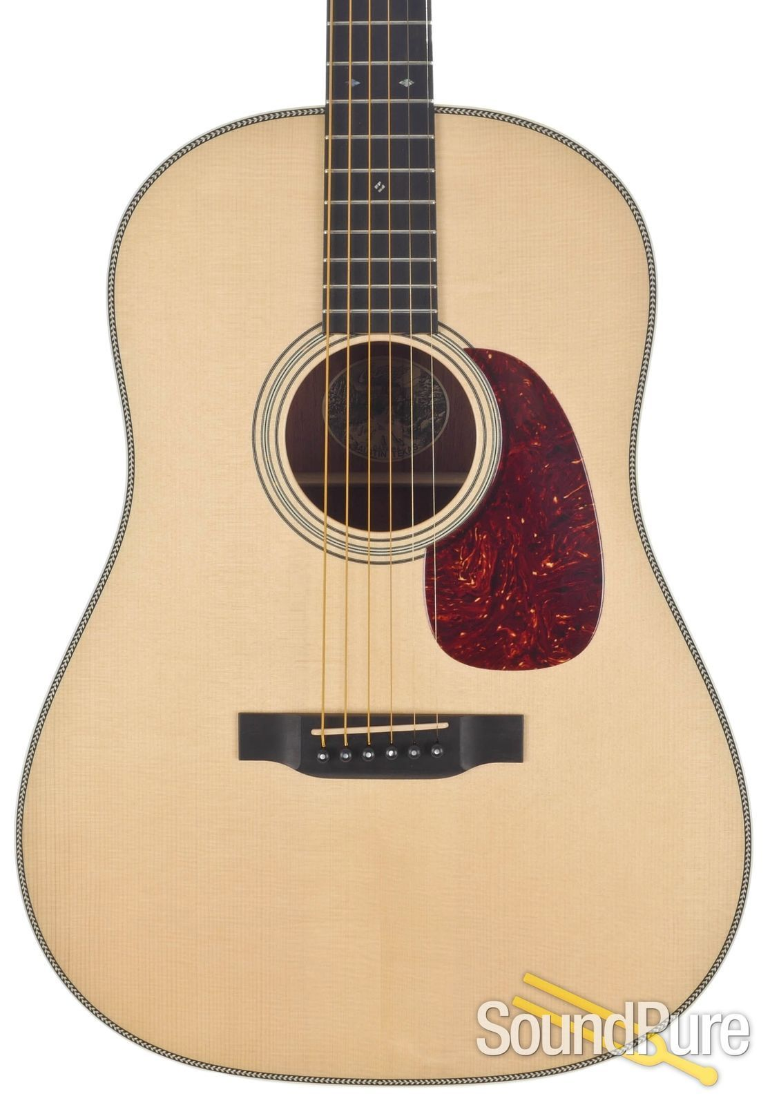 Collings Ds2ha Natural Acoustic Guitar 17280 Used Acoustic Acoustic Guitar Guitar