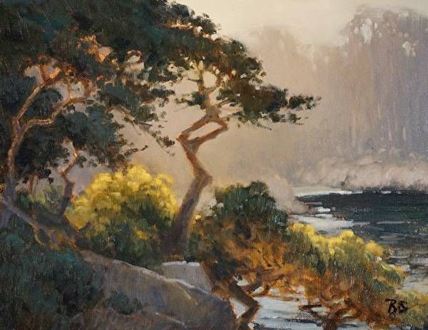 Summer Light Study by Brian Blood Oil ~ 11 x 14
