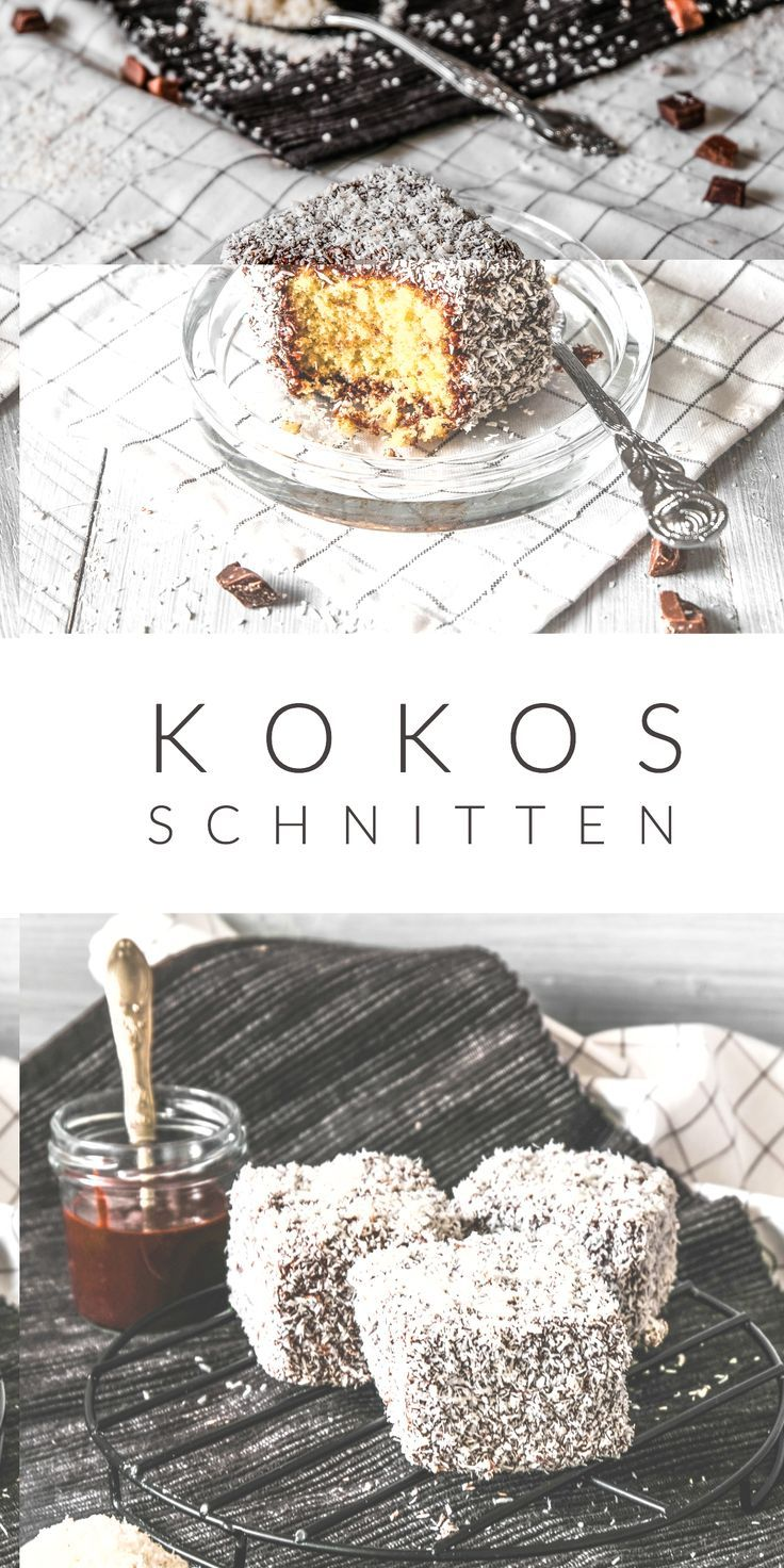 Photo of Kokos Schnitten – Cupavci – Ahalni Sweet Home
