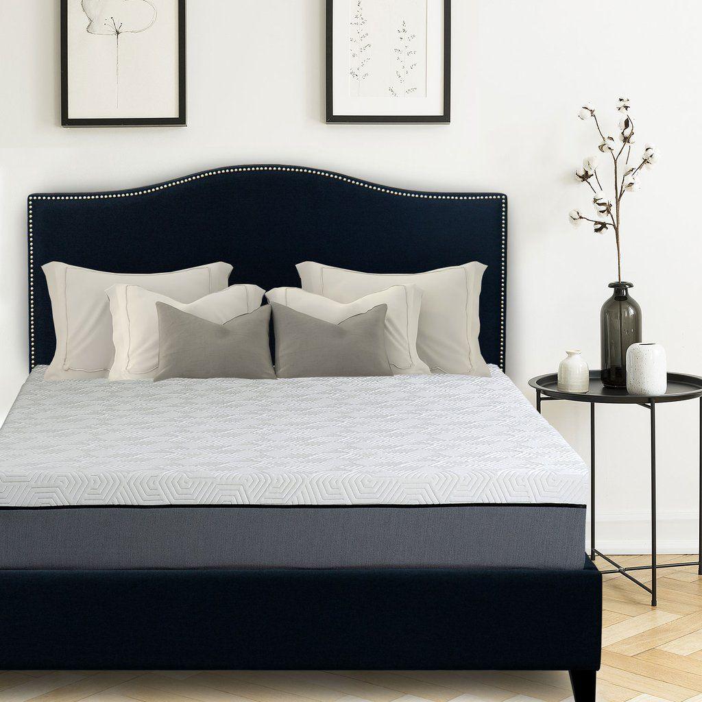 Avery Upholstered Platform Bed, 50 Adjustable beds