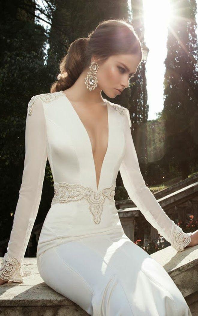 brillante colección de moda nupcial para novias de la firma berta