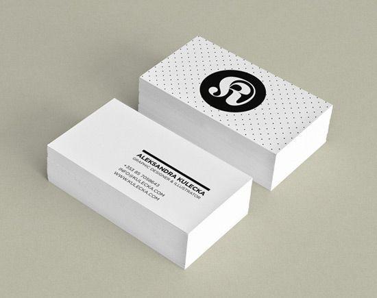 Business Card Design Visitkort Design Inspiration