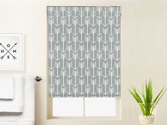 This Modern Blackout Roman Roller Shade Can Be Used Alone Or Topped With One Of Our Coordinati Custom Window Blinds Fabric Window Shades Blackout Roller Shades