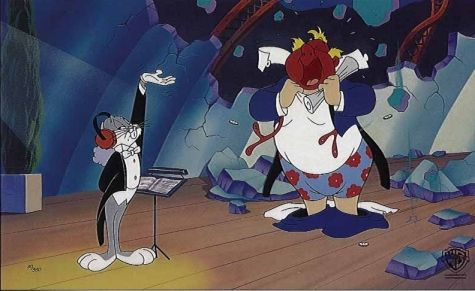 4d48936bfa622e04140daae2388e9689 long haired hare bugs pretends to be a conductor and forces,Bugs Bunny Conductor Meme