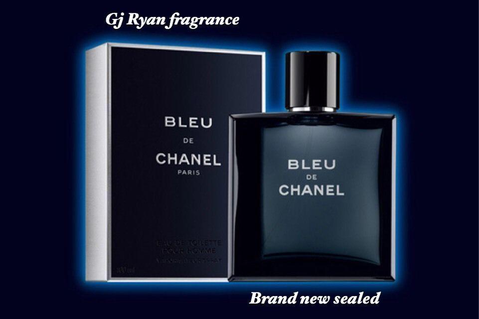 8927 Bleu De Chanel Eau De Toilette Pour Homme 34 Oz Cologne