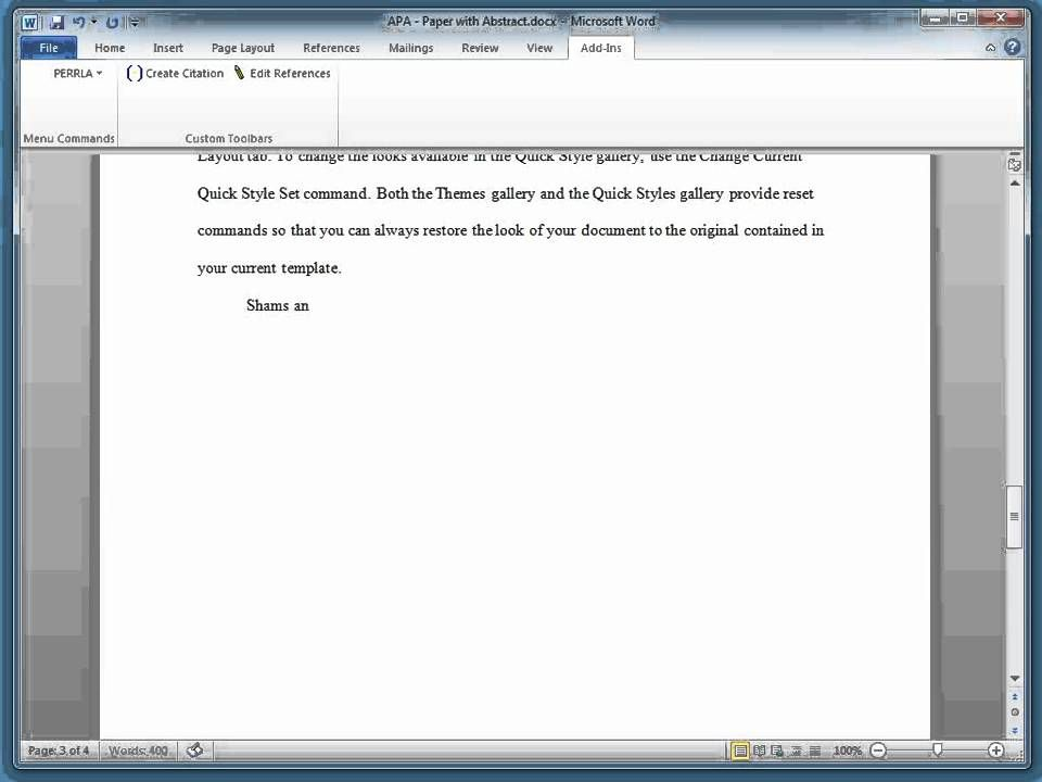 How To Add Block Quote An Apa Paper With Perrla Be Example Quotes Proper Way Insert A In Essay