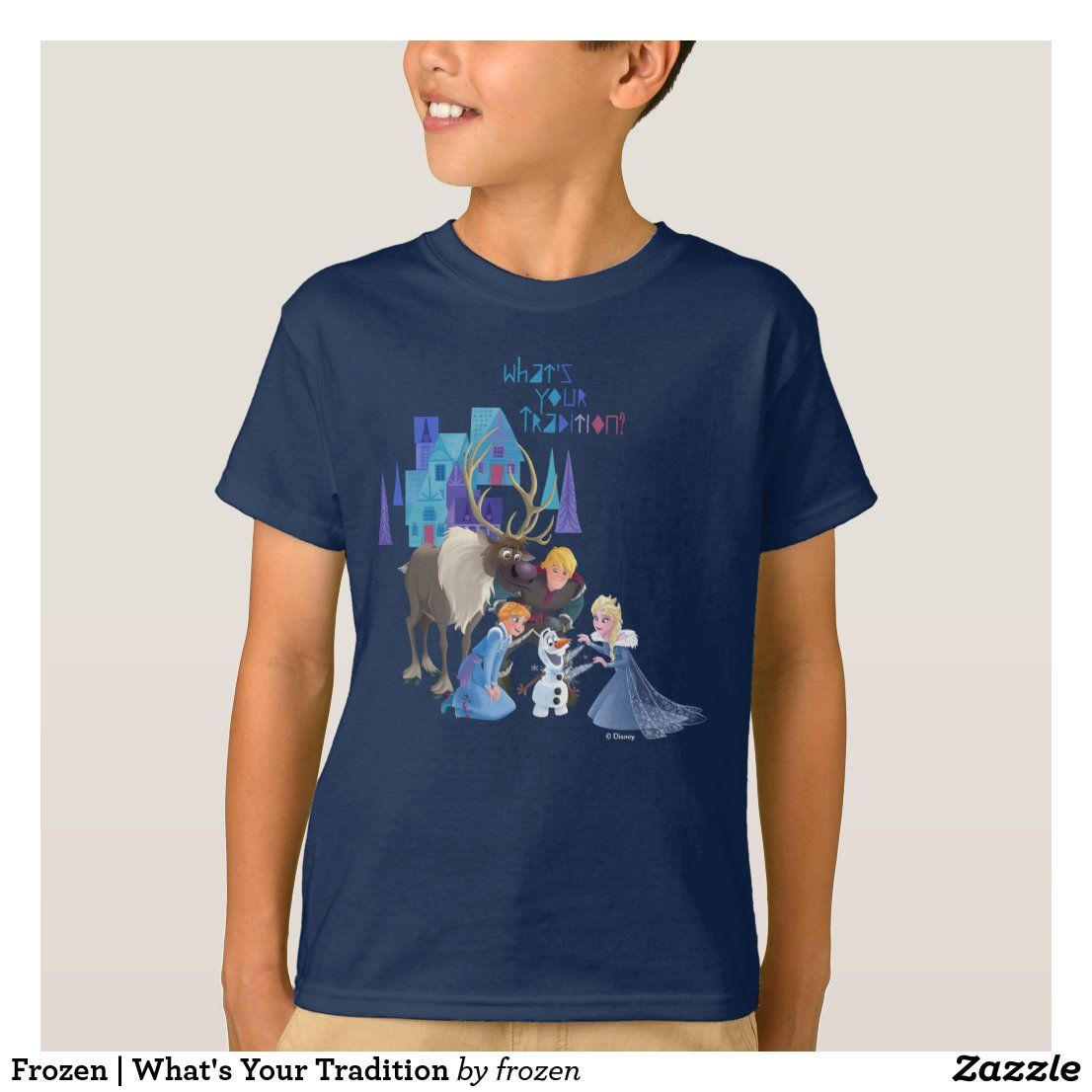 Frozen What's Your Tradition TShirt Elmo
