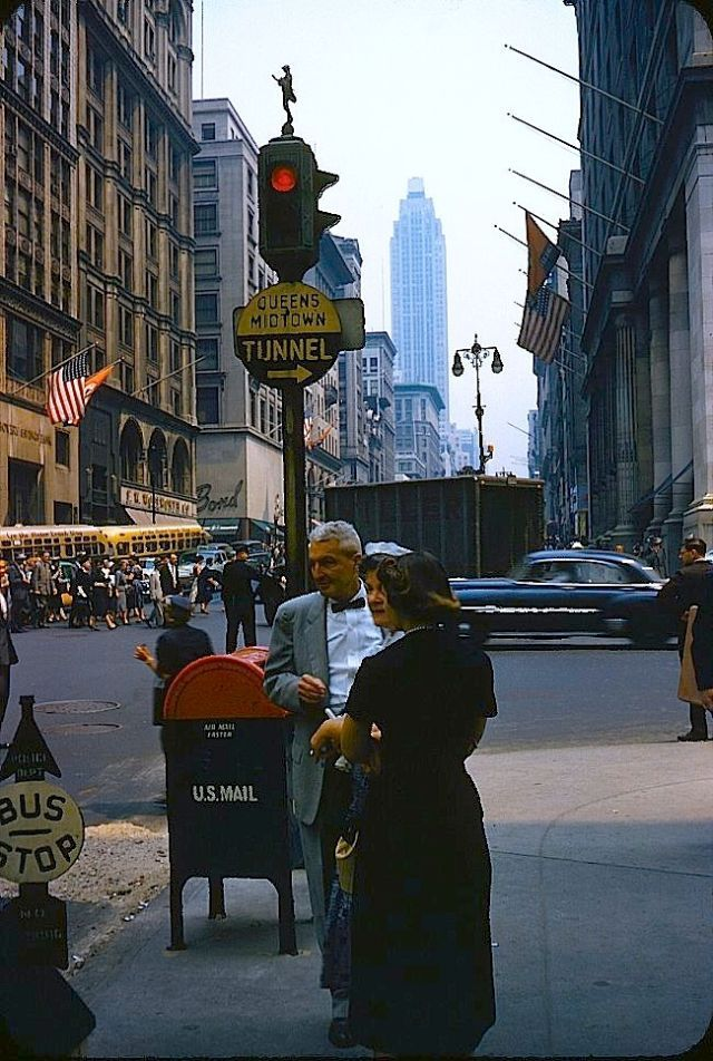 New York In The 1950s 23 Fascinating Color Snapshots May Make You