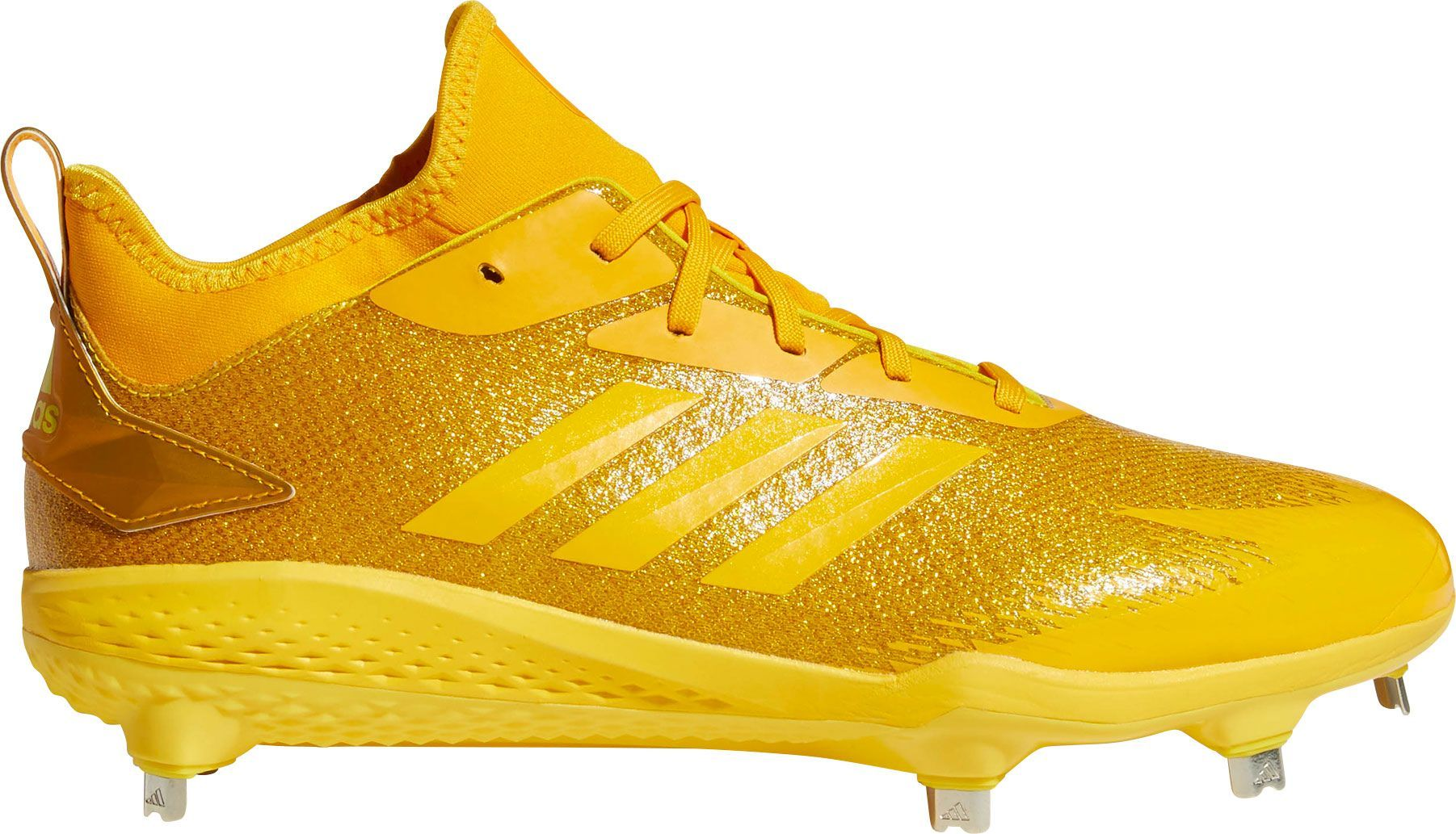 watch 4e7ad febd3 adidas Mens adiZERO Afterburner V Dipped Metal Baseball Cleats, Yellow