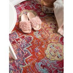 Photo of benuta Trends Teppich Visconti Multicolor/Orange 250×350 cm – Vintage Teppich im Used-Look