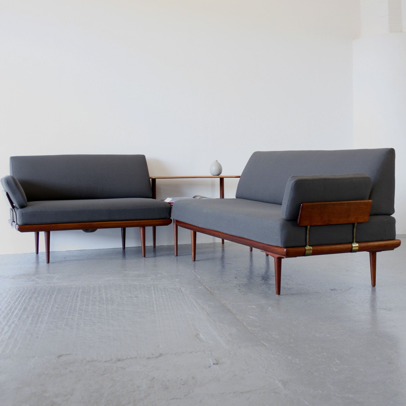 Minerva sofa set by peter hvidt u orla mølgaard nielsen furniture